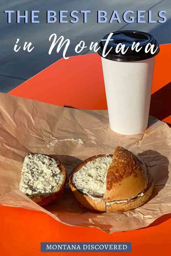 If you're in Montana and looking for some great breakfast options, check out this list of the best bagels in Montana. With bakeries in Billings, Missoula, Helena, Bozeman, or Bigfork, you'll hopefully be able to find one near you. #montana #bagels #breakfast