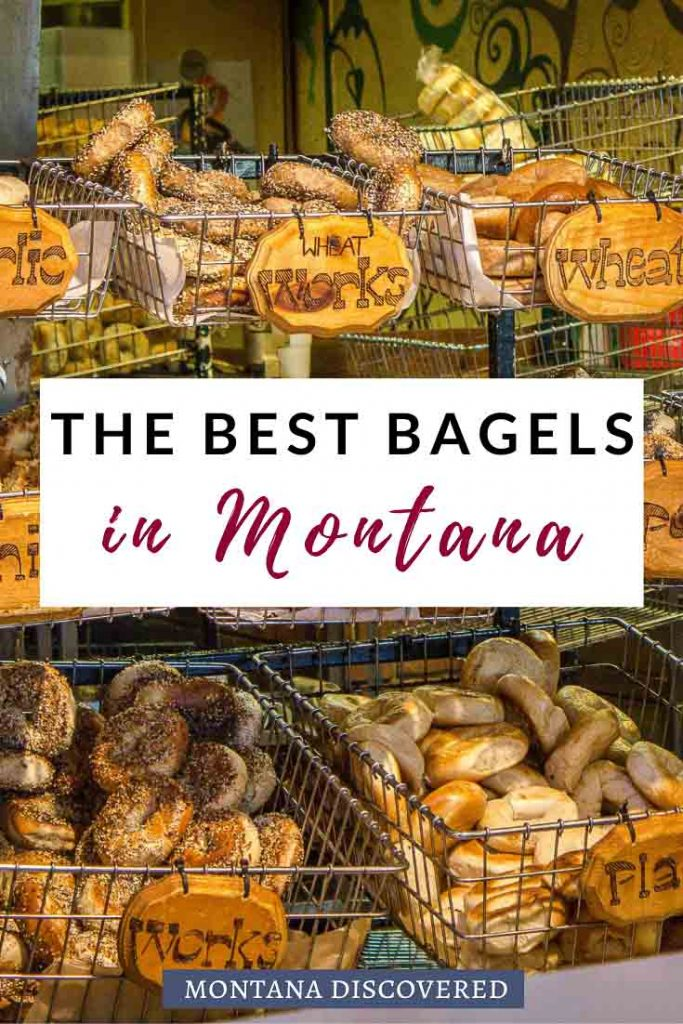 If you're looking for quick and affordable breakfast ideas while you visit Montana, look so further than the list of the best bagel shops in Montana. With options in Bozeman, Missoula, Bigfork, Helena, Billings, and more any bagel lover will be more than impressed on a trip to Big Sky Country. #montana #bagels #breakfast